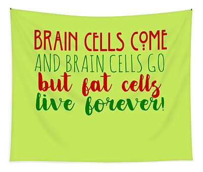 Brain Cells Tapestry