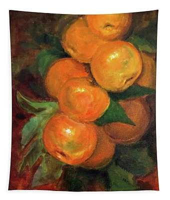 Branch Of Clementines Tapestry