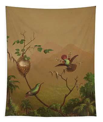 Brazilian Hummingbirds Iv Tapestry