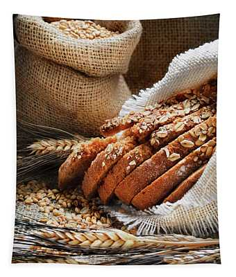 Bread And Wheat Ears Tapestry
