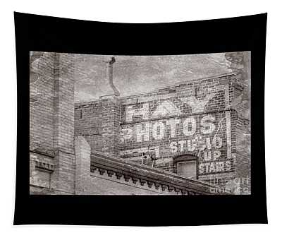 Brick Wall Advert  Tapestry