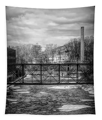 Bridge Over The Sugar River Tapestry