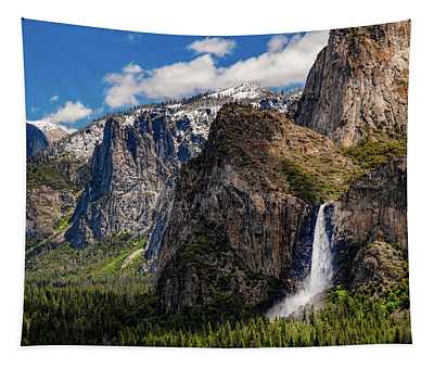 Bridleveil At Tunnel View Tapestry