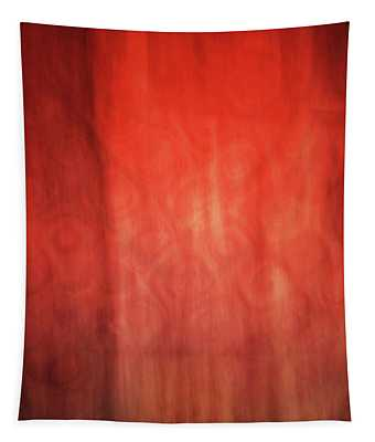 Bright Abstract Artistic Lines, Abstract Orange And Yellow Painting  Tapestry