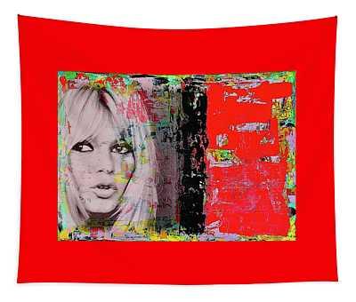 Brigitte Bardot Tapestry