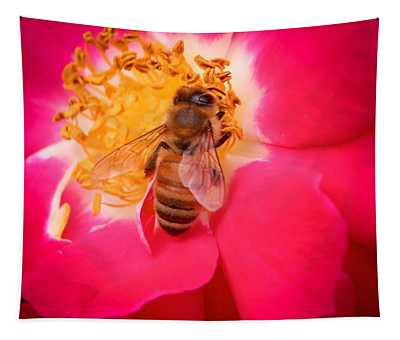 Brilliant Bee Tapestry