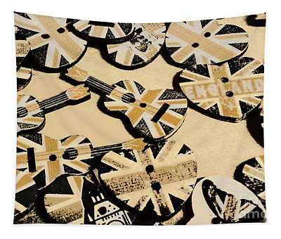 British Punk Rock Tapestry