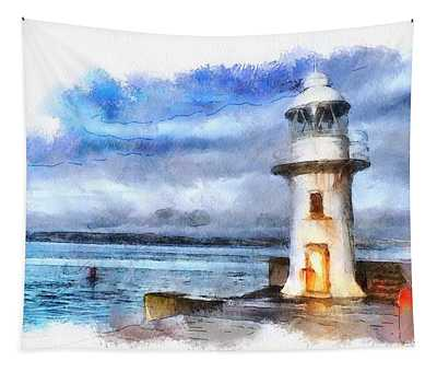 Brixham Lighthouse And Sea Tapestry
