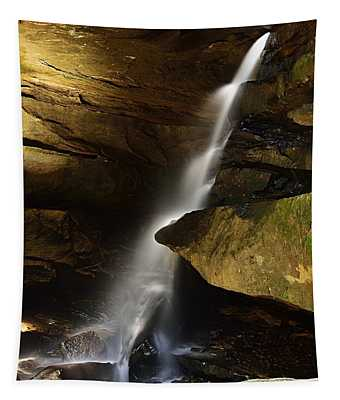Broken Rock Falls Tapestry