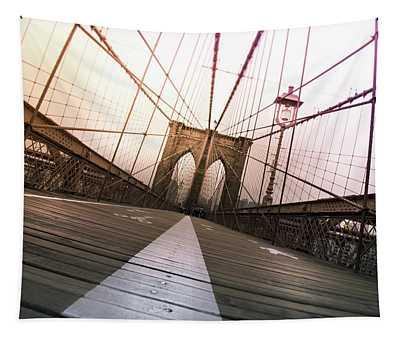 Brooklyn Bridge, New York City Tapestry
