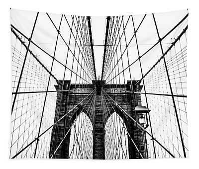Brooklyn Bridge Web Tapestry