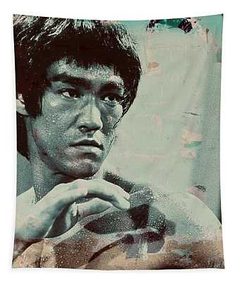Bruce Lee Tapestry