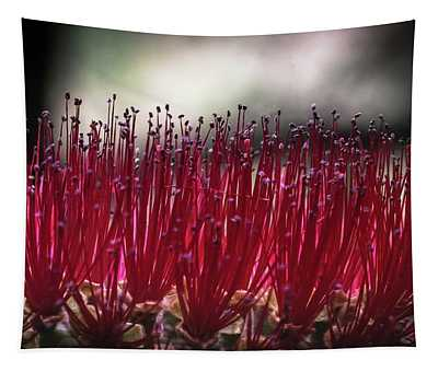 Brush Flower Tapestry
