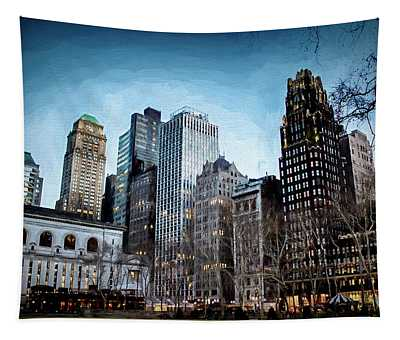 Bryant Park Nyc Tapestry
