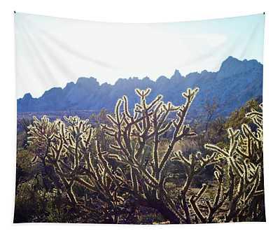 Buckhorn Cholla Tapestry