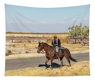 Buffalo Soldier 2018 - Allensworth State Historic Park Tapestry
