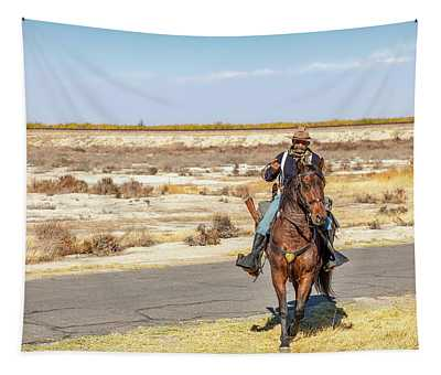 Buffalo Soldier 2018 - Allensworth State Park  Tapestry