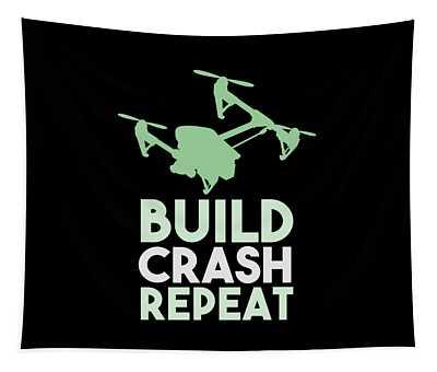 Build Crash Repeat Tapestry