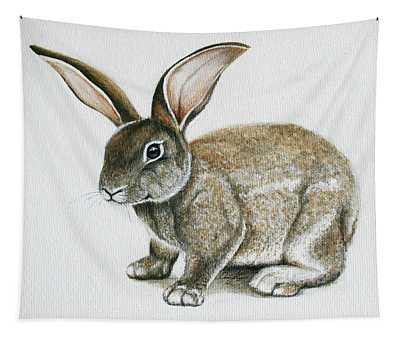 Bunny 1 Tapestry