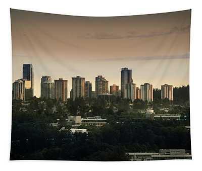 Burnaby Dusk Tapestry