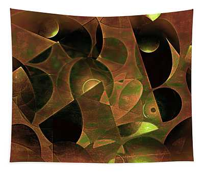Burnished Moons And Black Holes 5 Tapestry
