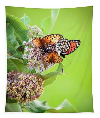 Butterfly Buffet II Tapestry