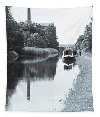 Bygone Industrial Highway Tapestry
