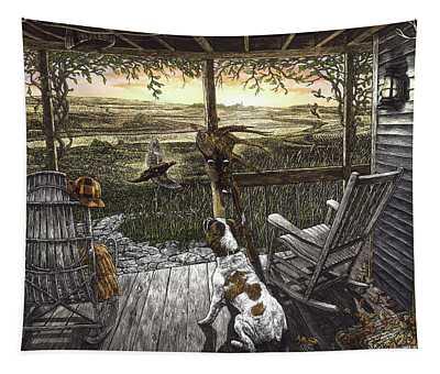 Cabin Fever Tapestry