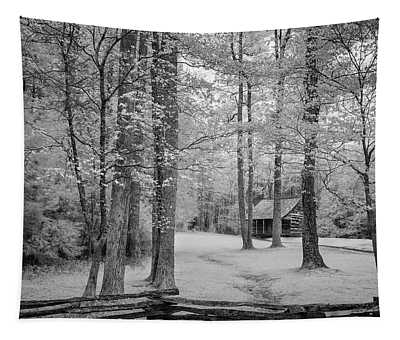 Cabin In The Smoky's IIi Tapestry