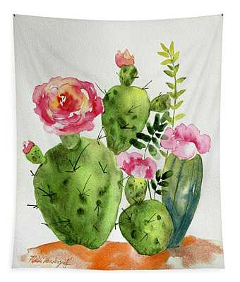 Cactus Patch Tapestry