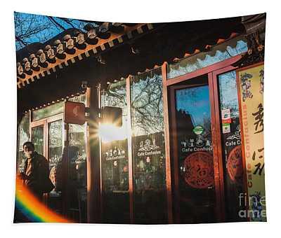 Cafe Confucius Tapestry