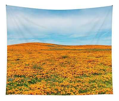 California Poppies - 2019 #2 Tapestry