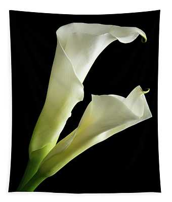 Calla Lily Pair Tapestry