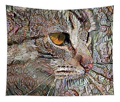 Camo Cat Tapestry