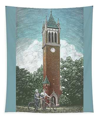 Campanile 1928 Tapestry