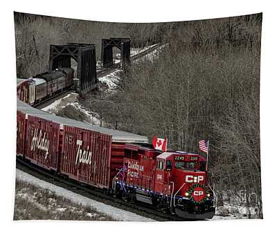 Canadian Pacific Holiday Train 2018 II Tapestry