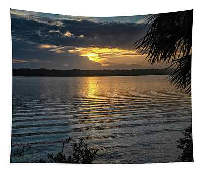 Canaveral Park Sunset Tapestry