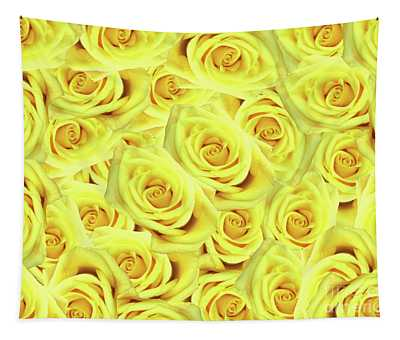Candlelight Roses Tapestry