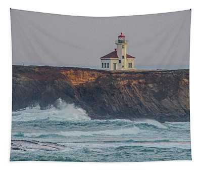 Cape Arago Lighthouse Tapestry