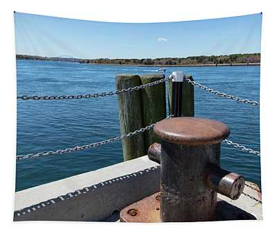 Cape Cod Canal View Tapestry