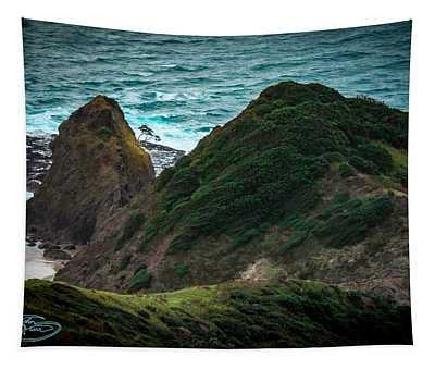 Cape Reinga And Kahika Tapestry