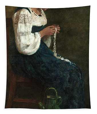 Capri Lace Maker, 1884 Tapestry
