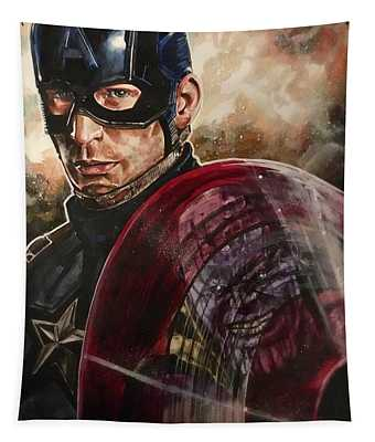 Captain America Tapestry