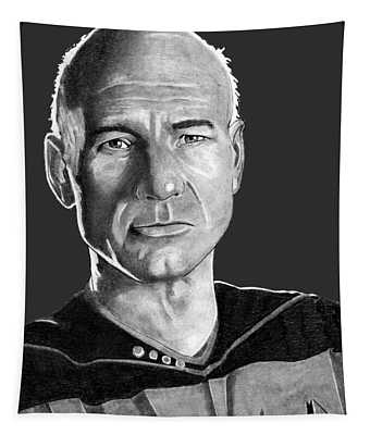 Captain Jean-luc Picard Tapestry