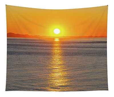 Captivating Sunset II Tapestry