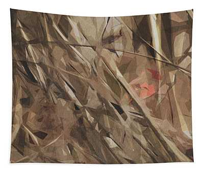 Cardinal Northern Male Redbird Tapestry