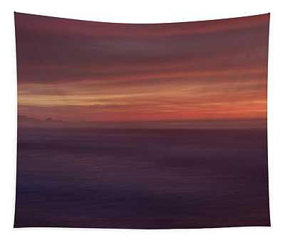 Carmel By The Sea Beach Tapestry