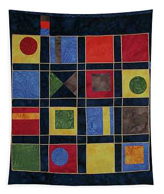 Carnival Of Colors Tapestry