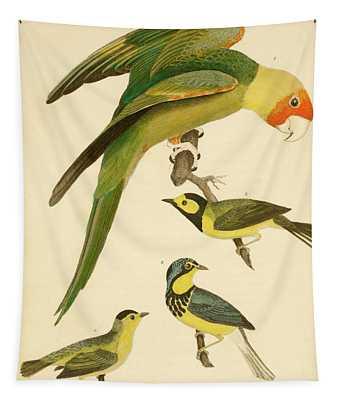 Carolina Parrot Tapestry