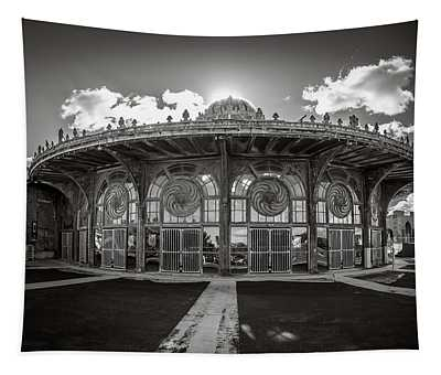 Tapestry featuring the photograph Carousel House by Steve Stanger